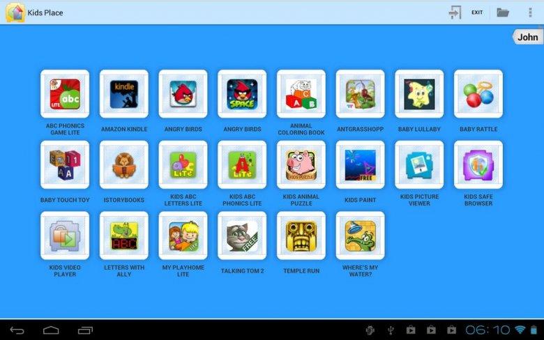 Po włączeniu kontroli rodzicielskiej tablet będzie bezpieczny dla dziecka