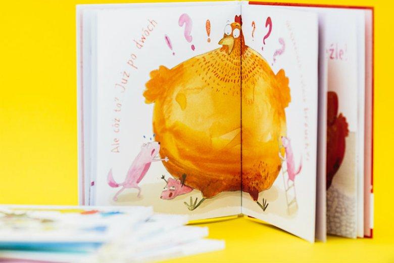 """""""Kura, która tyła na diecie"""" - puenta tej książeczki uczy dzieci bardzo ważnej rzeczy"""