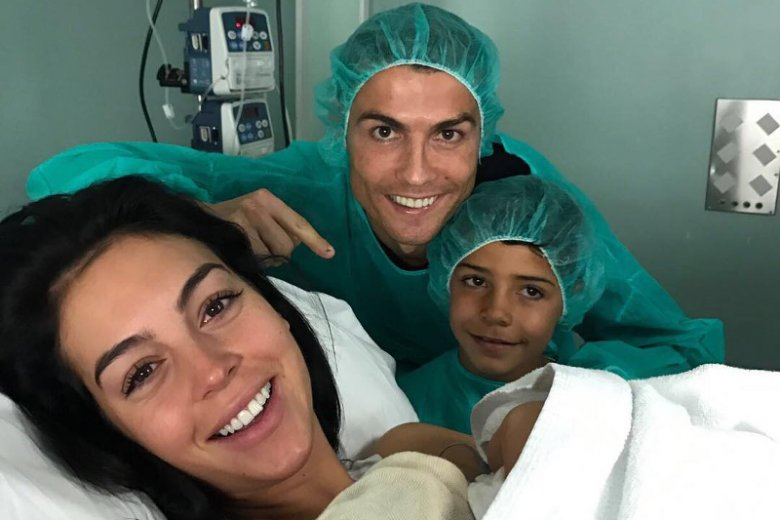 Cristiano Ronaldo po raz czwarty został ojcem.
