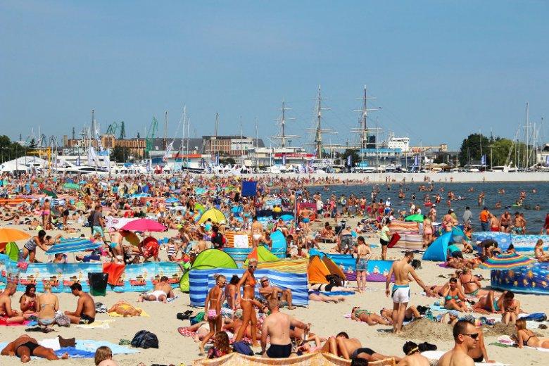 Taki widok na plażach w Polsce nie jest wyjątkiem.