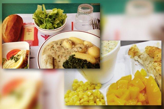 Posiłki w szkołach różnią się w zależności od tradycji kulinarnych konkretnych krajów.