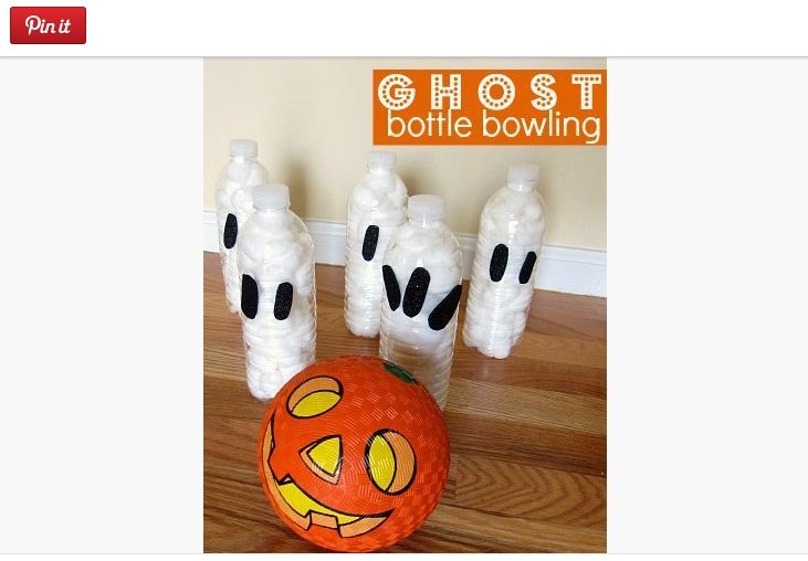 Fot. Screen z Pinterest / [url=http://www.notimeforflashcards.com/2012/09/ghost-bottle-bowling-halloween-game-for-kids.html]No Time For Flash Cards[/url]