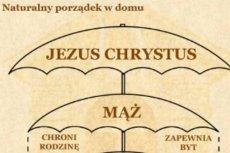Metafora parasola a układ w rodzinie