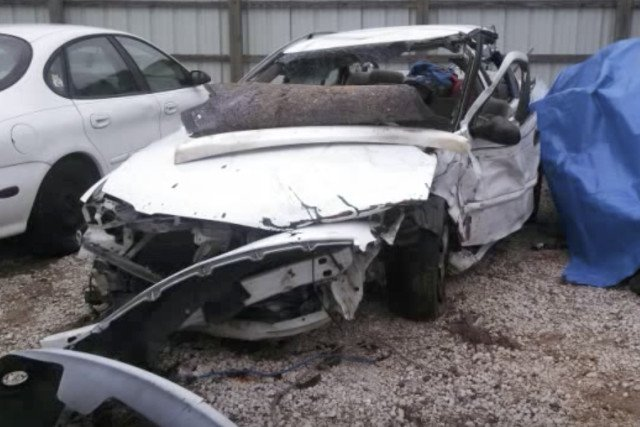 Rodzinne auto po wypadku