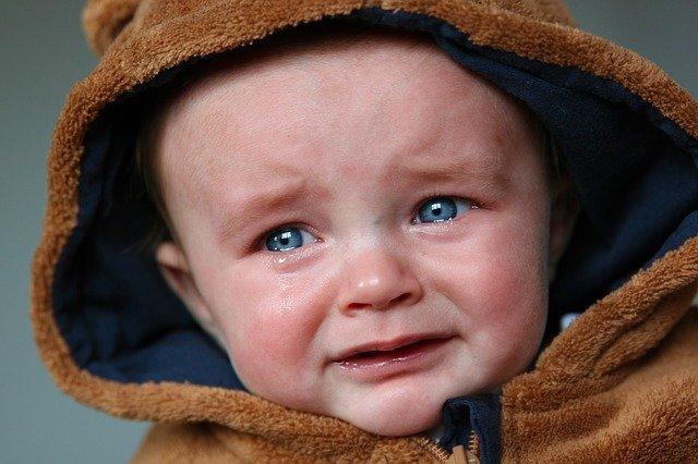 Płaczące dziecko niekoniecznie jest nieszczęśliwe