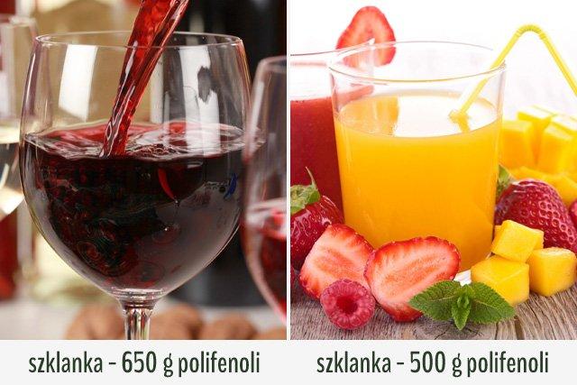 Alkohol w odpowiednich ilościach nie jest wrogiem zdrowej diety.
