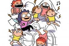 Komiks o prawdziwym, ale zabawnym życiu z dziećmi