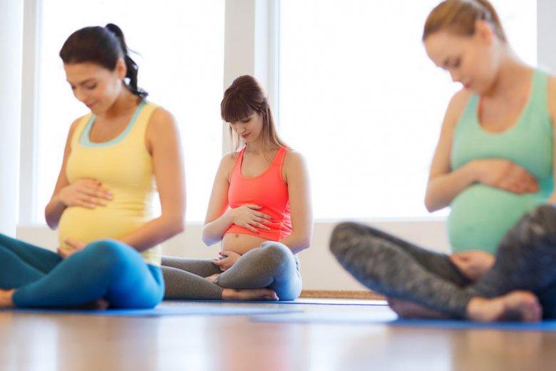 Aktywność fizyczna w ciąży.