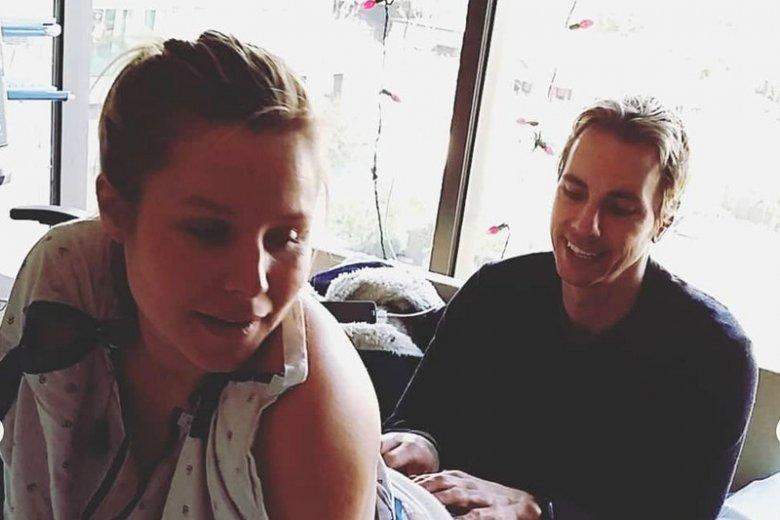 Kristen Bell pokazała zdjęcia z narodzin córki.