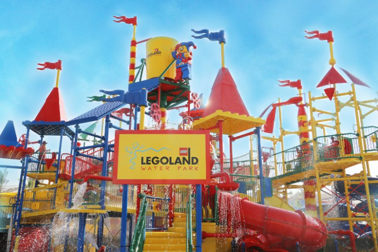 Park wodny Legoland w kompleksie Dubai Parks and Resorts