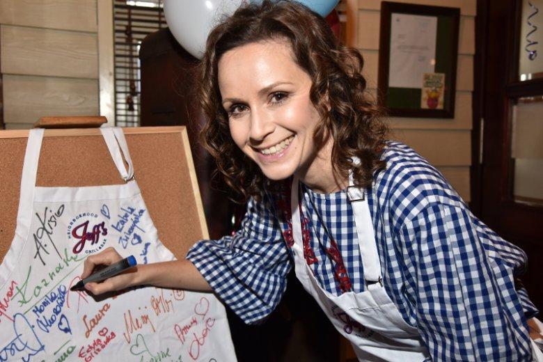 Monika Mrozowska od kilku lat jest bardzo związana ze światem kulinarnym.