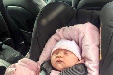 Przewożenie noworodka w foteliku samochodowym może być niebezpieczne