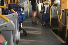 Matka zostawiła w tramwaju dziecko w wózku bez opieki.