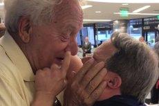 Reakcja 53-latka z zespołem Downa na widok ojca chwyta za serce.