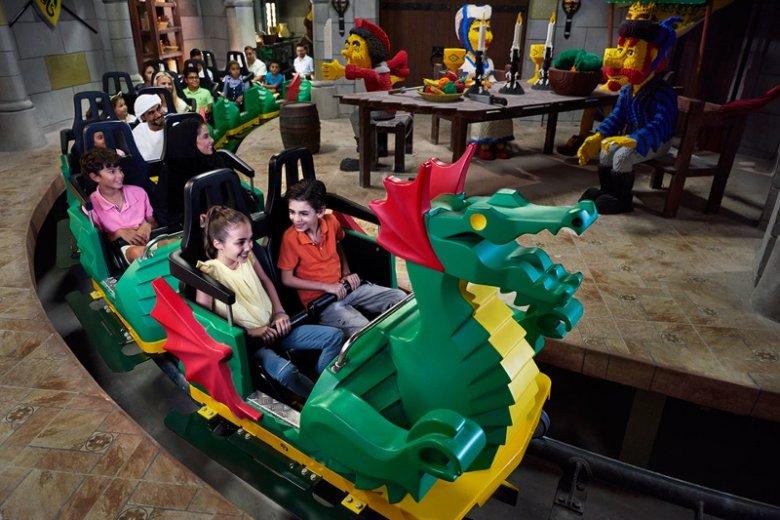 Legoland Dubai to parki rozrywki w Dubaju przeznaczony dla starszych i młodszych miłośników popularnych klocków LEGO. Obiekt składa się z 6 krain oferujących 40 rozrywek