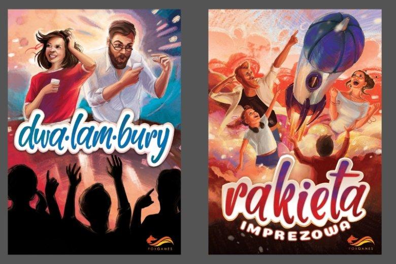 """""""Dwalambury"""" i """"Rakieta Imprezowa"""" to najnowsze gry towarzyskie dla rodzin i przyjaciół, w których trzeba wykazać się kreatywnością, wyobraźnią i zasobem słownictwa"""