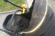 Wyjątkowo złośliwe przypadki niszczenia dziecięcych wózków w Bydgoszczy.
