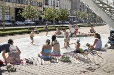 Fontanna w Lublinie  to tylko jeden z przykładów tego, jak ochoczo kąpiemy się w zakazanych miejscach w mieście.