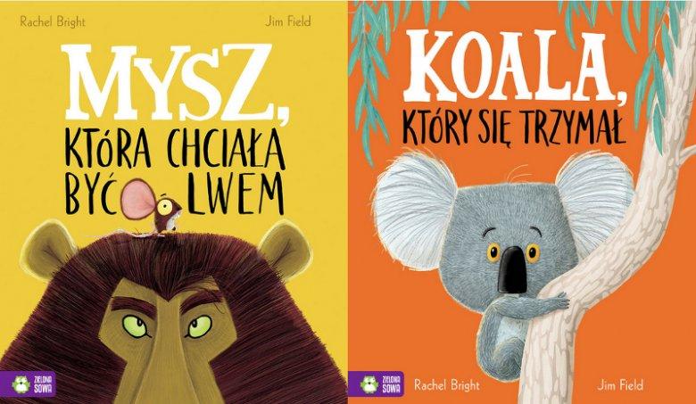 Wydane przez Zieloną Sowę książki takie jak ''Mysz, która chciała być lwem'' i ''Koala, który się trzymał'' to dobre przykłady picturebooków, których barwne historyjki przemycają ważne treści