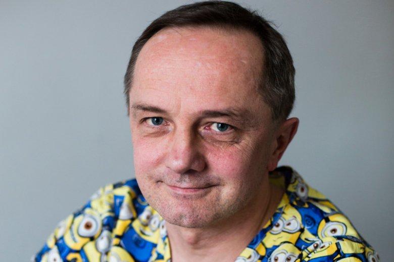 Grzegorz Chajdaś jest pierwszym zarejestrowanym położnym w Polsce