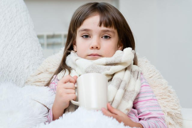 Dzieci, które się zdrowo odżywiają, rzadziej zapadają na sezonową grypę.