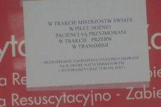 Kartka z informację, która ukazała się na oddziale SOR nie była w żaden sposób autoryzowana przez Dyrekcję Szpital – informuje Paweł Natkowski.