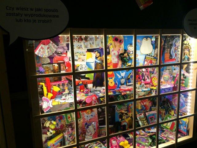 Kolekcje zabawek w Muzeum dla Dzieci.