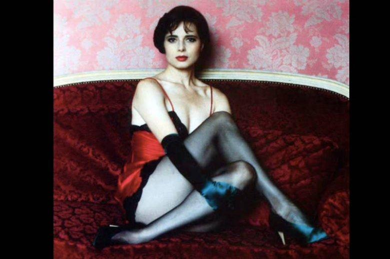 """Isabella Rosselini w kadrze filmu """"Blue Velvet"""""""