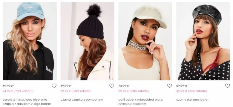 Produkty Missguided dostępne są również w Polsce.