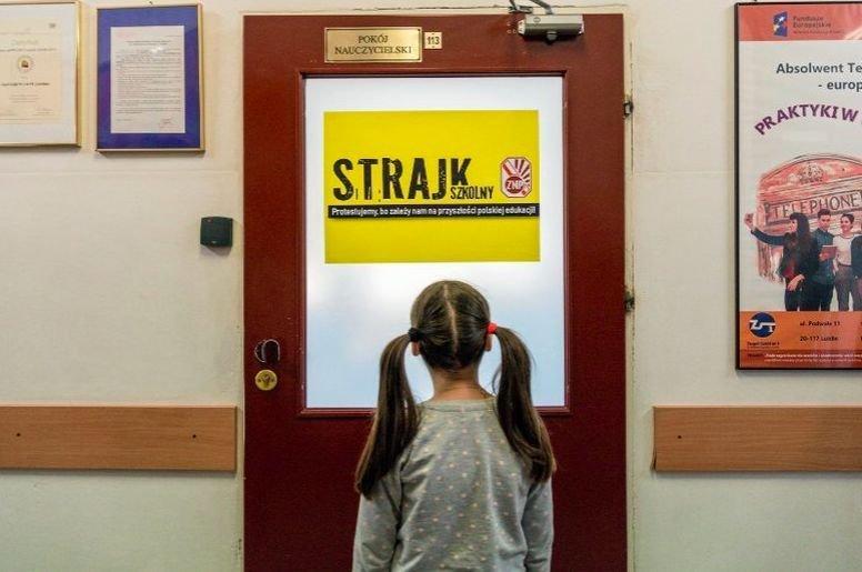 Lekcję ze strajku dzieci wyciągną na całe życie. Choć nie jest to matematyka ani j. polski
