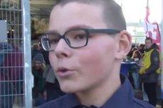 14-letni Basiak Eichenberger udziela teraz wielu wywiadów.