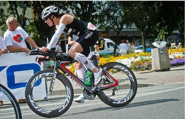 Karolina Gorczyca woli jazdę na rowerze niż bieganie.