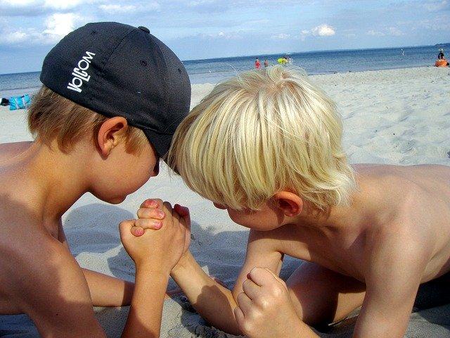 Życie z rodzeństwem to nieustanna walka.