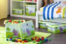 Pojemniki na zabawki to doskonały sposób, by utrzymać porządek i nauczyć dzieci sprzątania