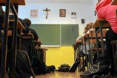 """Test z """"Botoksu"""" na lekcji religii."""