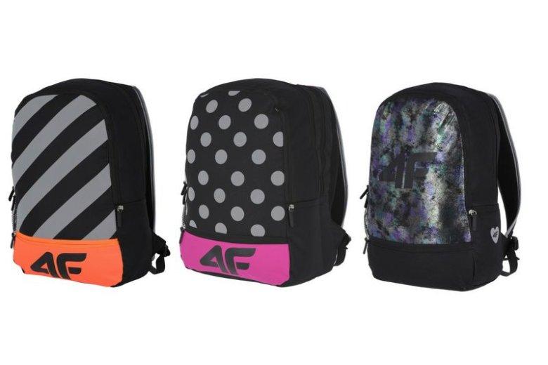 Projektanci 4F Junior zadbali nie tylko o modny wygląd i wygodę plecaków, ale również o bezpieczeństwo ich małych użytkowników