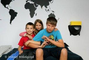 Dzieciaki z Będkowic w nowym pokoju