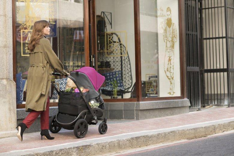 Quinny Hubb to wygodny i przestronny wózek, który sprawdzi się idealnie w mieście