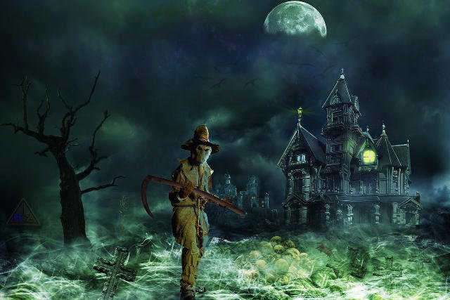 Fot. Pixabay/ [url=http://pixabay.com/pl/grim-reaper-horror-creepy-straszny-656083/]currens[/url] / [url=http://pixabay.com/pl/service/terms/#download_terms]CC O[/url] Dlaczego straszymy dzieci?