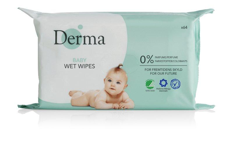 Chusteczki nawilżane Derma.