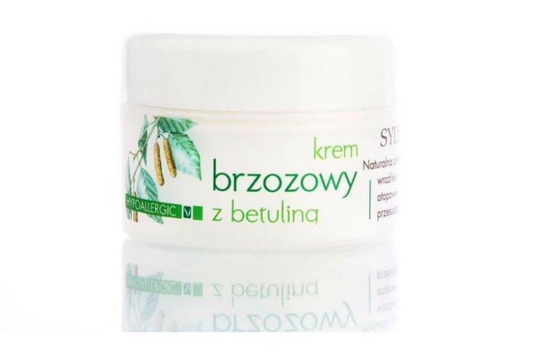 Reagująca alergicznie skóra lubi hipoalergiczne kosmetyki jak np. wyprodukowany przez Sylveco krem brzozowy z betuliną