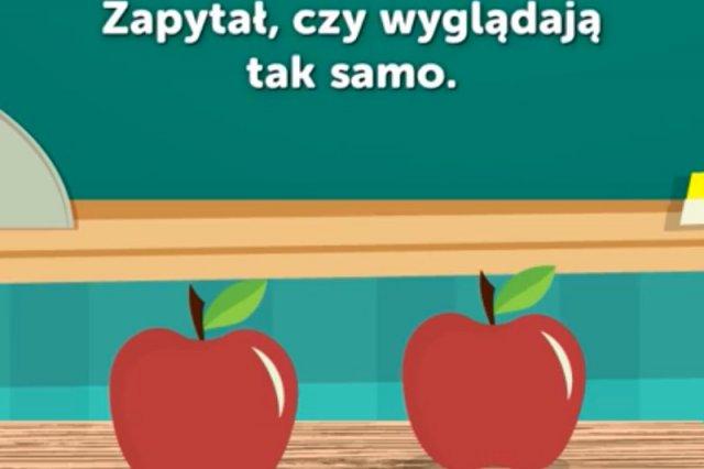 Niezwykły eksperyment z jabłkami.