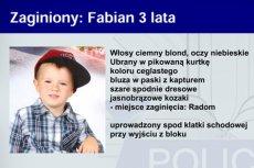 Fot. Screen z Childalert.pl