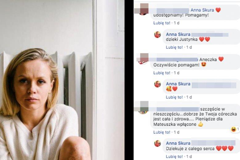 Annie Skurze udało się przekuć tragedię w dobro