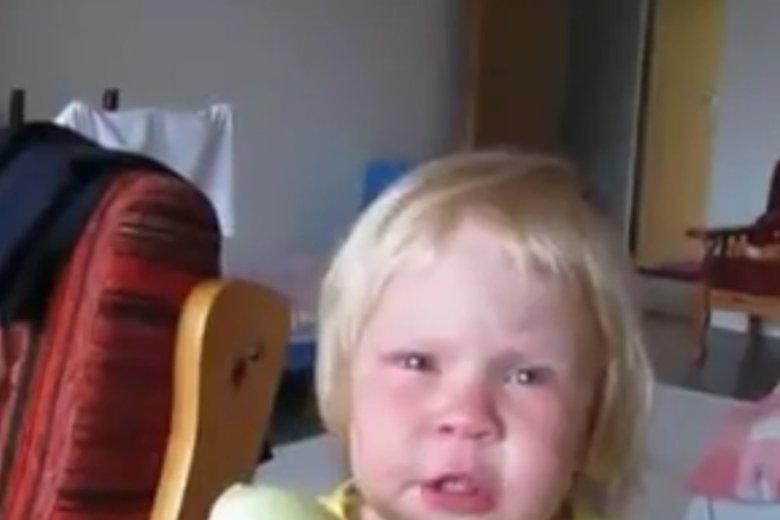 Dziecko woli zjeść cebulę, niż przyznać się do błędu.