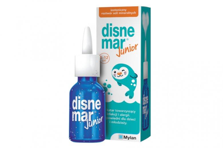 Disnemar Junior to izotoniczny roztwór soli mineralnych o neutralnym pH, który może być stosowany do udrażniania nosa. Specjalnie zaprojektowany aplikator umożliwia jego podawanie w każdej pozycji, również leżącej