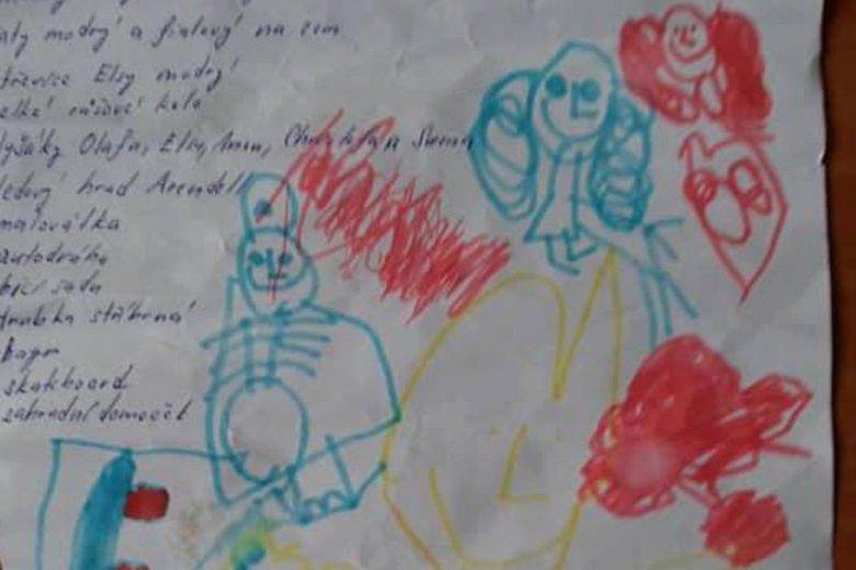 4-letnia dziewczynka z Czech wysłała list do Jezusa. Znalazła go kobieta z Zabrza