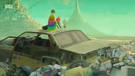 """Kadr z filmu """"Chłopiec i świat"""""""