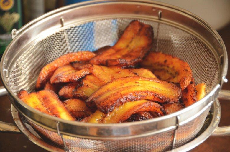 Smażone plantains