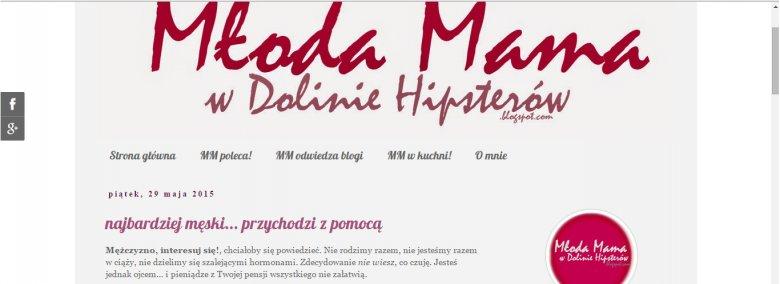 Fot. Screen ze strony [url=http://mmwdoliniehipsterow.blogspot.com/]Młoda Mama W Dolinie Hipsterów[/url]